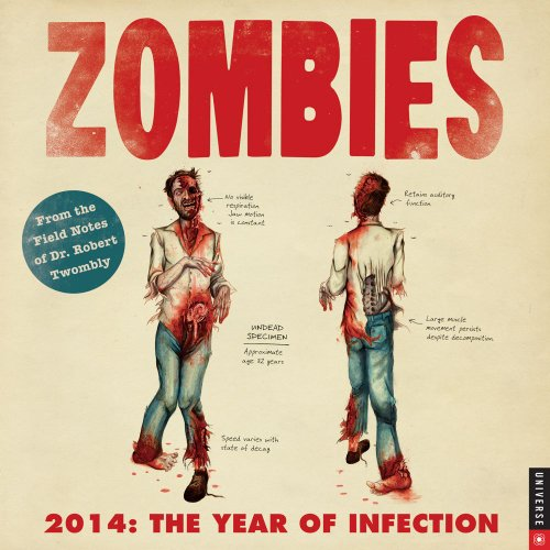 9780789326775: Zombies 2014 Wall Calendar: The Year of Infection