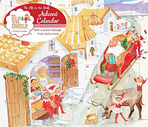 9780789326782: Elf on the Shelf Advent Calendar