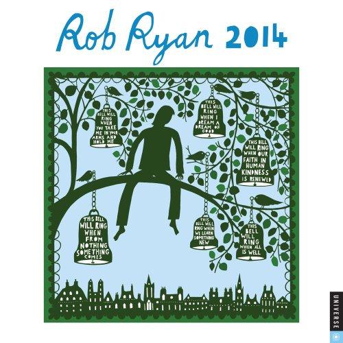 9780789326805: Rob Ryan 2014 Calendar