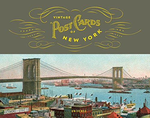 9780789327628: Vintage Postcards of New York (The Stefano and Silvia Lucchini Collection)