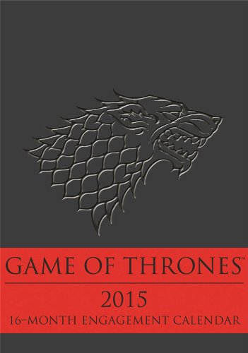 9780789328335: Game of Thrones 2015 16-Month Engagement Calendar