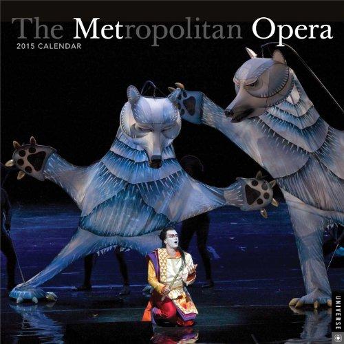 9780789328380: The Metropolitan Opera 2015 Calendar