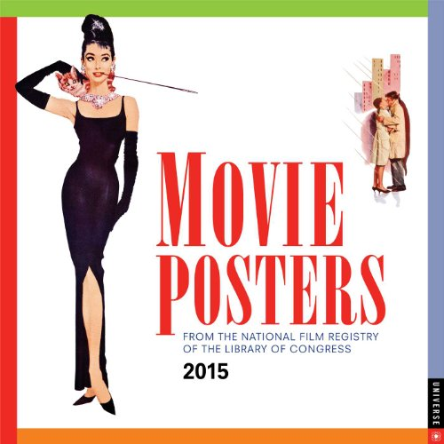 9780789328427: Movie Posters 2015 Wall Calendar: From the National Film Registry of the Library of Congress
