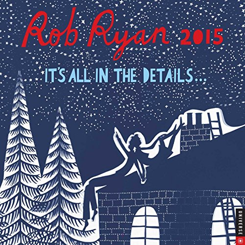 9780789328458: Rob Ryan 2015 Wall Calendar