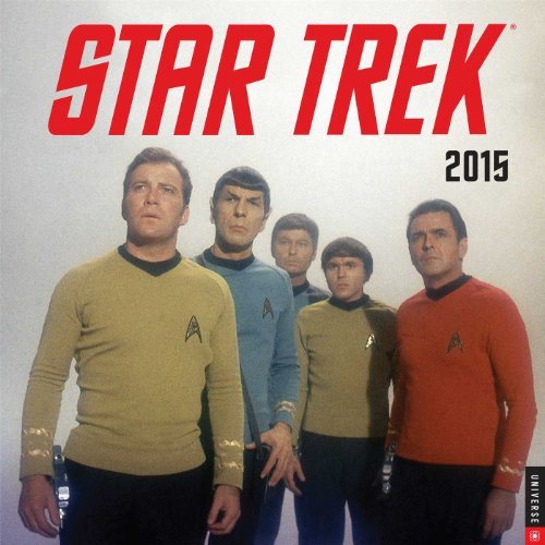 9780789328465: Star Trek 2015 Wall Calendar: The Original Series