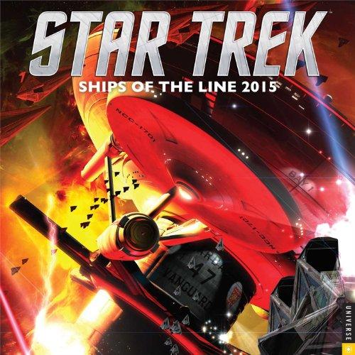 9780789328489: Star Trek 2015 Wall Calendar: Ships of the Line