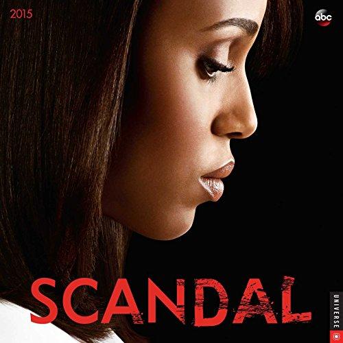 9780789328700: Scandal 2015 Wall Calendar
