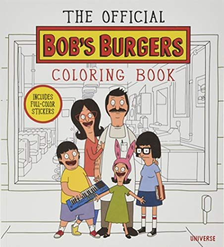 9780789328755: BOBS BURGERS ADULT COLORING BOOK