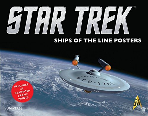 9780789329417: Star Trek: Ships of the Line Posters
