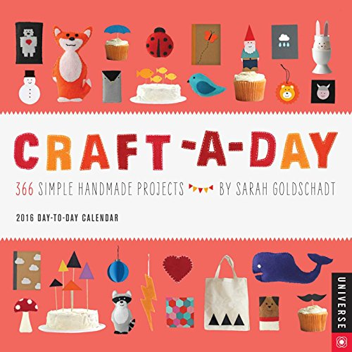 9780789329547: Craft-a-day 2016 Calendar: 366 Simple Handmade Projects
