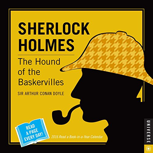 9780789329585: Sherlock Holmes 2016 Read a Book-in-a-Year Day-to-Day Calendar: The Hound of the Baskervilles