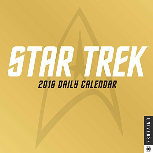 9780789329608: Star Trek Daily 2016 Day-to-Day Calendar