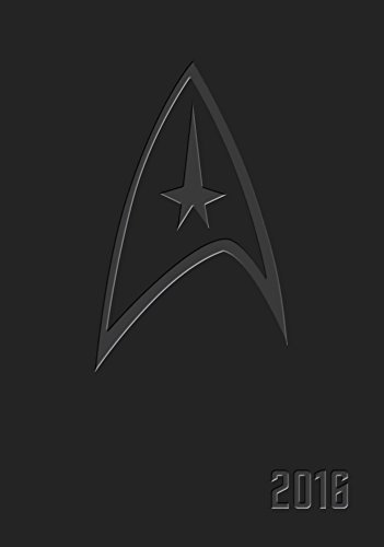 9780789329660: Star Trek 2015-2016 16-Month Executive Engagement Calendar