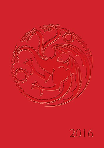9780789329677: Game of Thrones 2015-2016 16-Month Executive Engagement Calendar