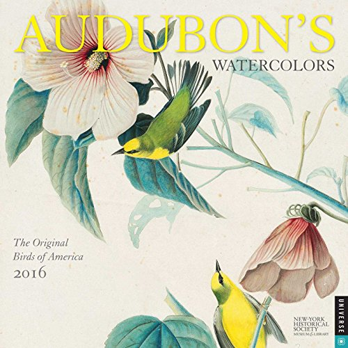 9780789329714: Audubon's Watercolors 2016 Calendar: The Original Birds of America