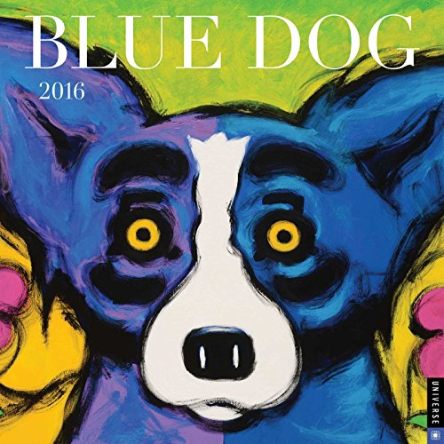 9780789329738: Blue Dog 2016 Wall Calendar