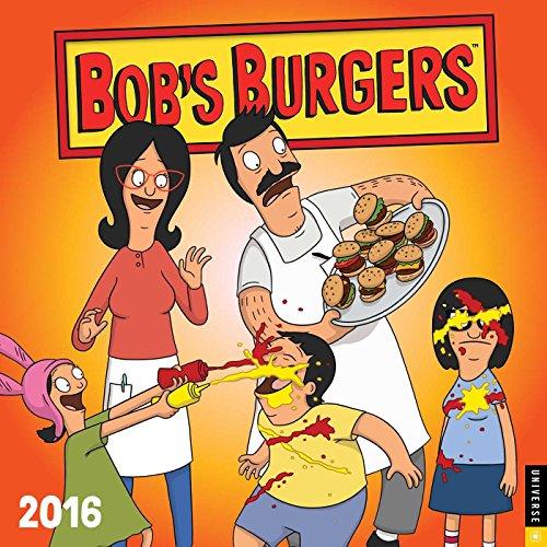 9780789329745: Bob's Burgers 2016 Wall Calendar
