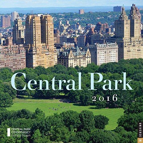 9780789329769: Central Park 2016 Wall Calendar