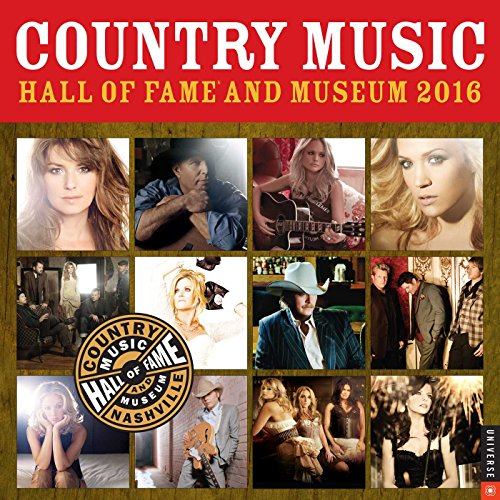 9780789329783: Country Music Hall of Fame and Museum 2016 Wall Calendar