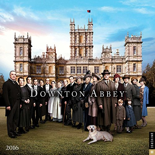 9780789329806: Downton Abbey 2016 Mini Wall Calendar