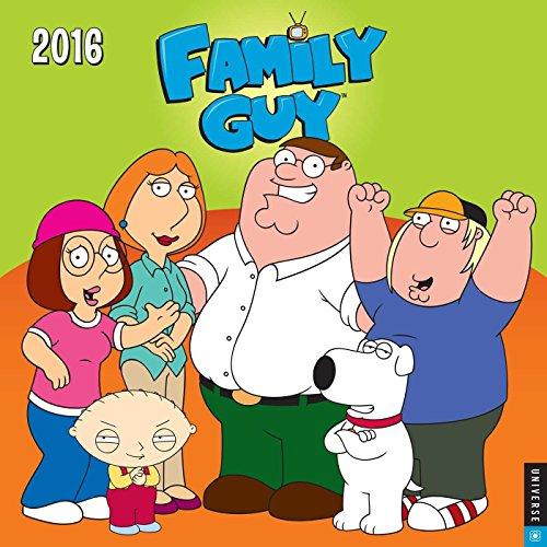 9780789329813: Family Guy 2016 Wall Calendar