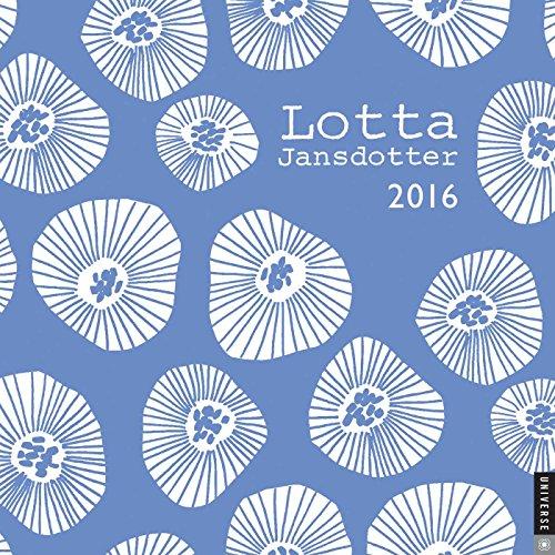 9780789329882: Lotta Jansdotter 2016 Wall Calendar