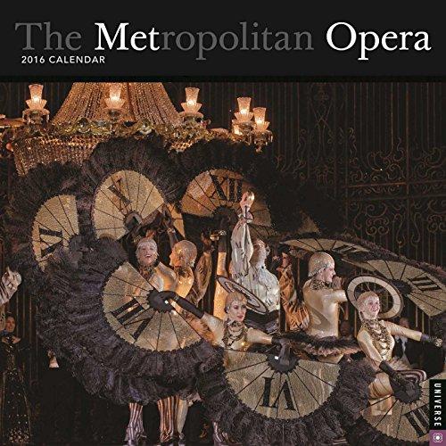9780789329929: The Metropolitan Opera 2016 Calendar