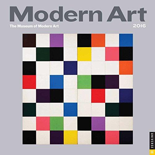 9780789329943: Modern Art 2016 Mini Wall Calendar