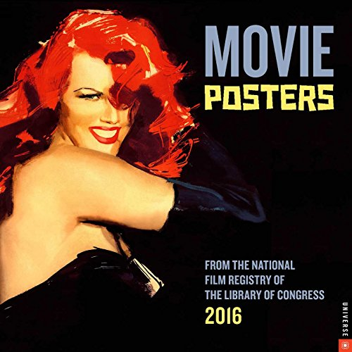 9780789329974: Movie Posters 2016 Wall Calendar: From the National Film Registry of the Library of Congress