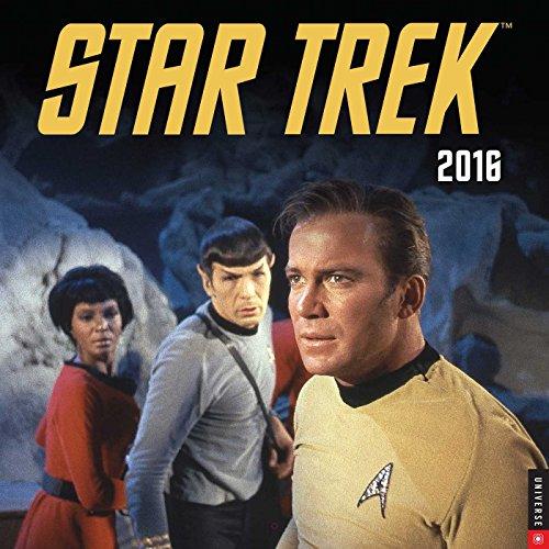 9780789329998: Star Trek 2016 Wall Calendar: The Original Series