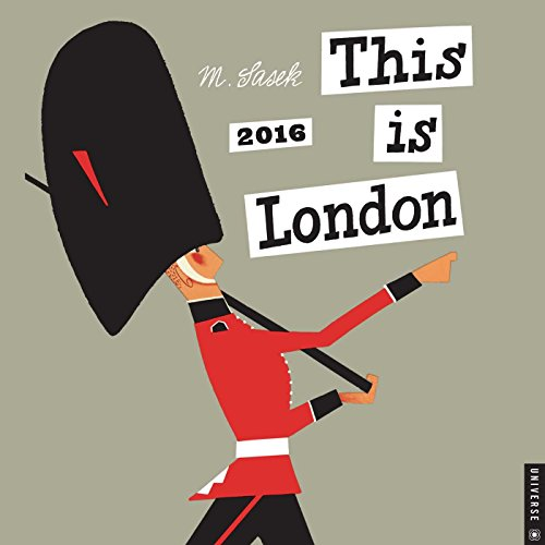 9780789330031: This is London 2016 Wall Calendar