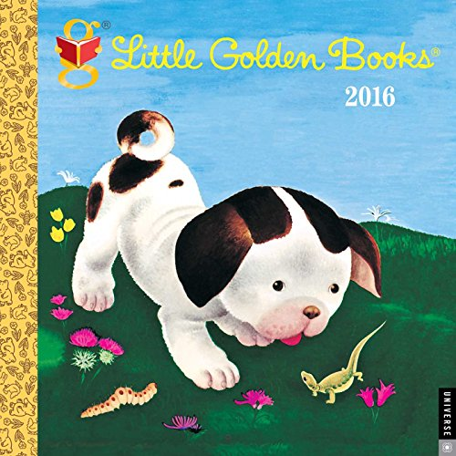 9780789330178: Little Golden Books 2016 Wall Calendar