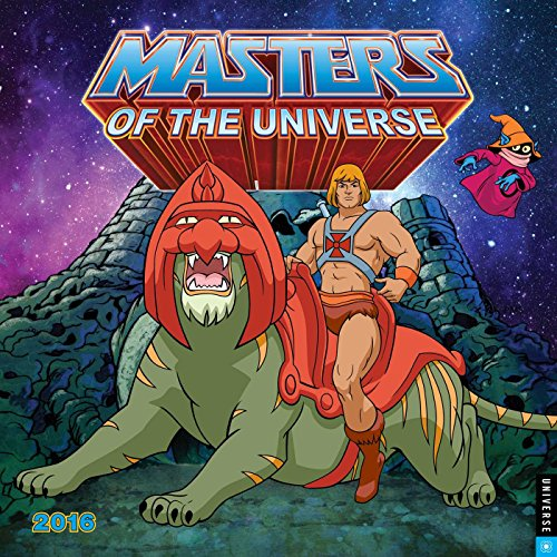 9780789330185: He-Man and the Masters of the Universe 2016 Wall Calendar