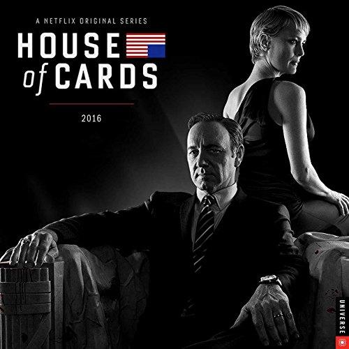 9780789330192: Netflix: House of Cards 2016 Wall Calendar