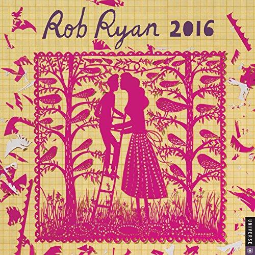 9780789330208: Rob Ryan 2016 Wall Calendar