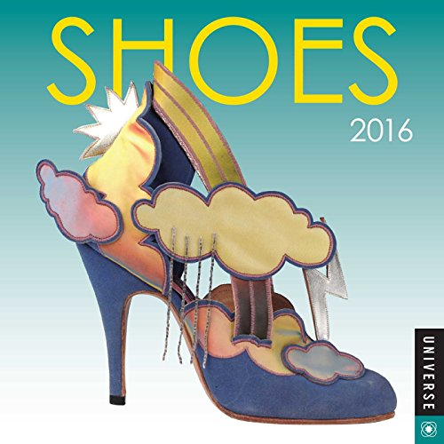 9780789330222: Shoes 2016 Mini Wall Calendar