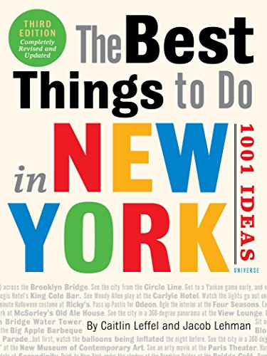 9780789331212: The Best Things to Do in New York: 1001 Ideas: 3rd Edition