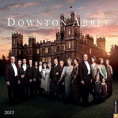 9780789331663: Downton Abbey 2017 Wall Calendar