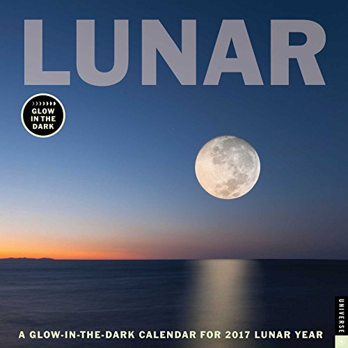 9780789331823: Lunar: A Glow-In-The-Dark Calendar for the Lunar Year (Square Wall)