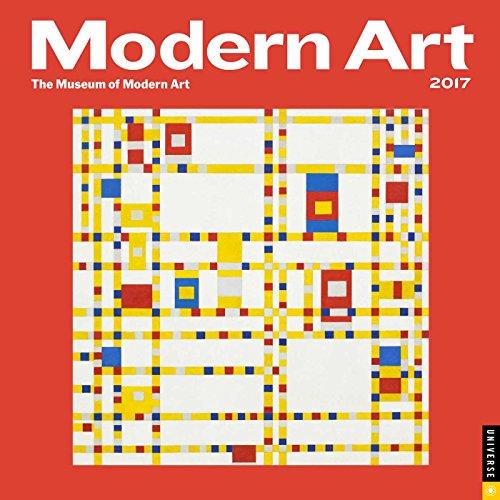 9780789331861: Modern Art 2017 Wall Calendar