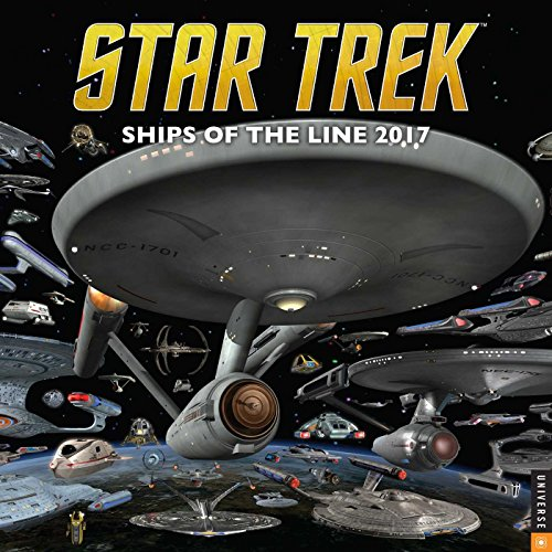 9780789331960: STAR TREK SHIPS OF LINE 2017 WALL CALENDAR
