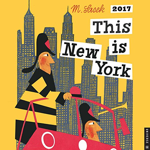 9780789332028: This Is New York 2017 Wall Calendar (Square Wall)