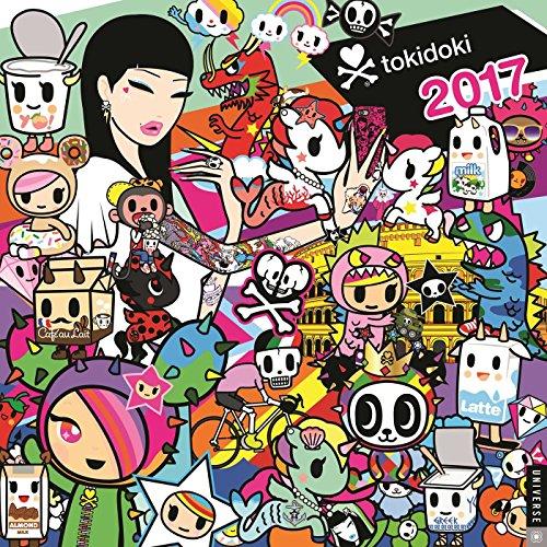 9780789332059: tokidoki 2017 Wall Calendar