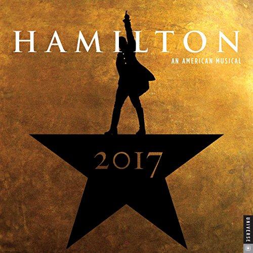 Hamilton 2017 Wall Calendar