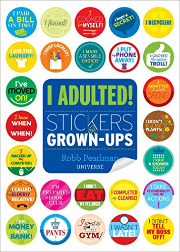 9780789332905: I Adulted!: Stickers for Grown-Ups