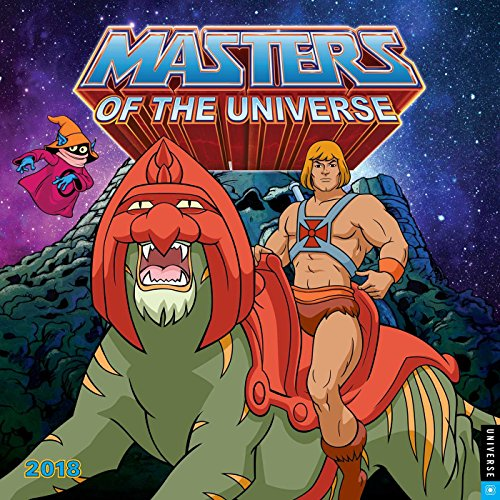 He-Man and the Masters of the Universe 2018 Wall Calendar