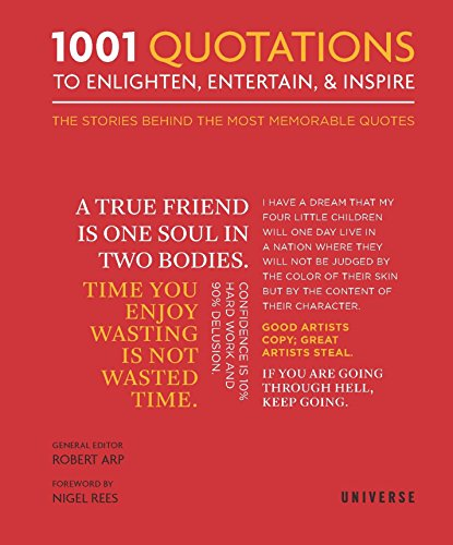 9780789334084: 1001 Quotations to Enlighten, Entertain, and Inspire