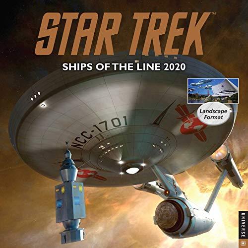 9780789336330: Star Trek Ships of the Line 2020 Calendar