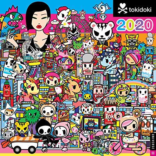 9780789336408: tokidoki 2020 Square Wall Calendar