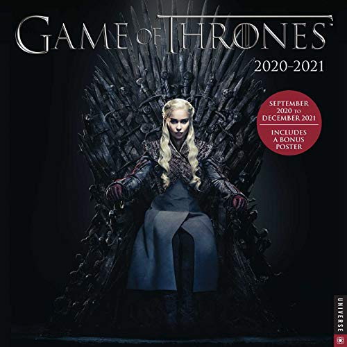 9780789338587: Game of Thrones 2020-2021 Calendar